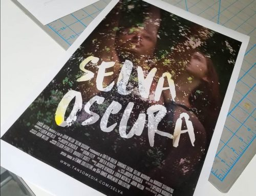 Proofing a Film Poster for Selva Oscura…Print is not Dead!